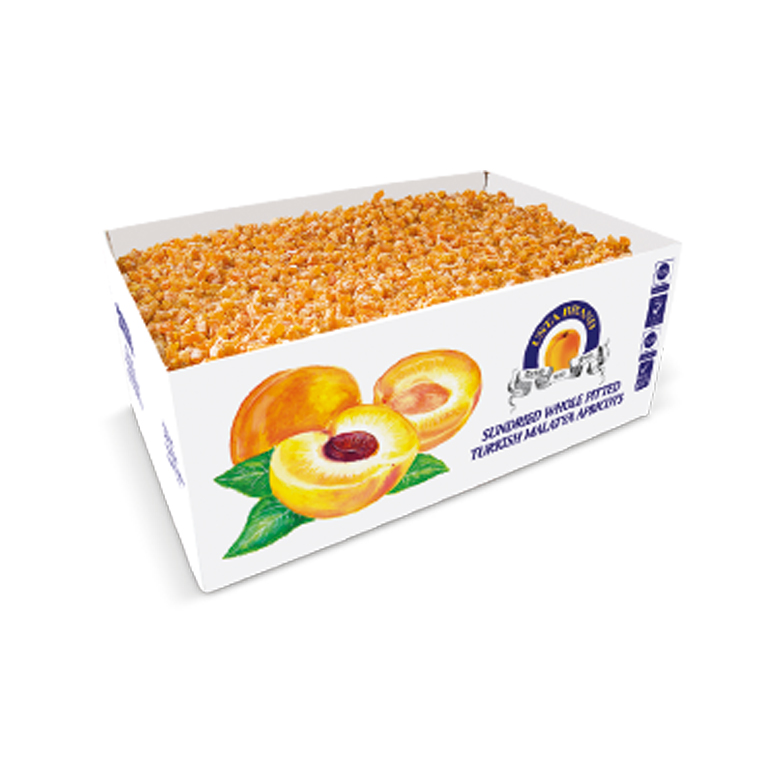 Diced Dried Fruits Carton Boxes 10 kg - Usta Food Industry Agricultural