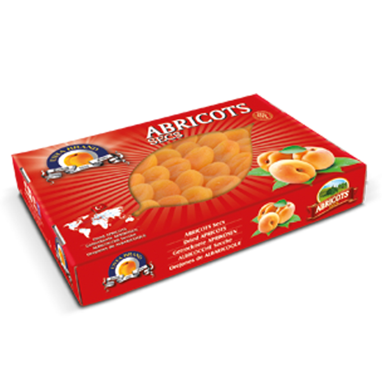 Dried Apricots Carton Boxes – Luxury 5 kg - Usta Food Industry Agricultural