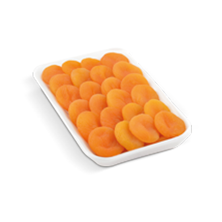 Dried Apricots Foam Trays 400/ 500 g - Usta Food Industry Agricultural