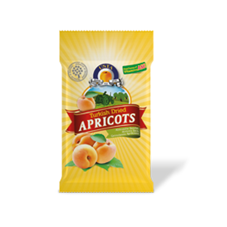 Dried Apricots Pillow Cellobags 30 x 30 g - Usta Food Industry Agricultural