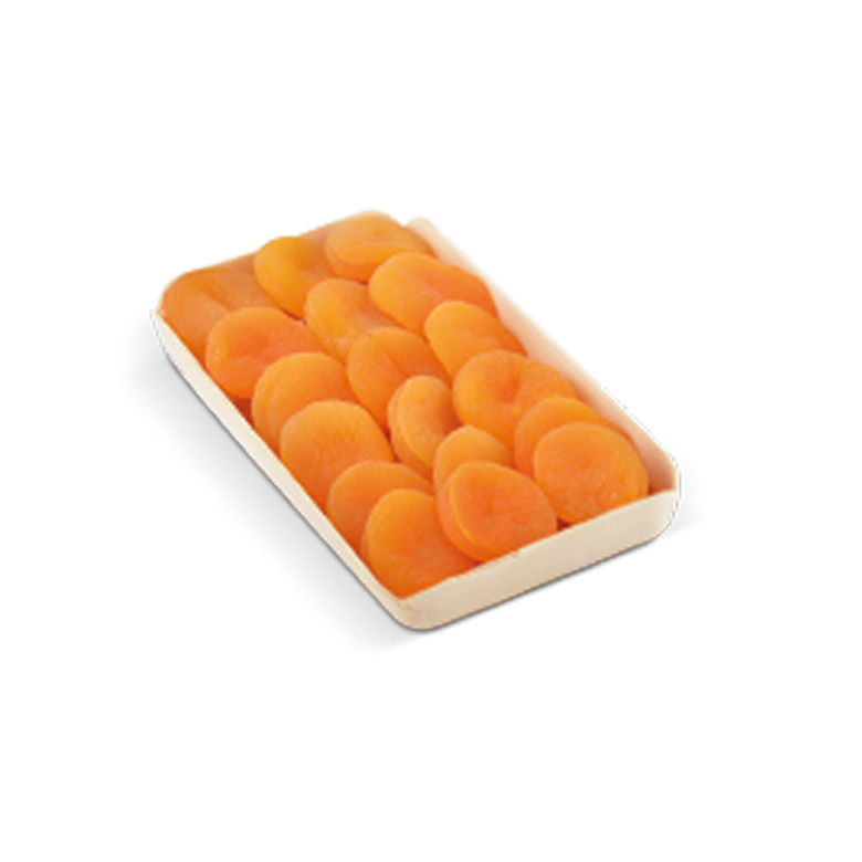 Dried Apricots Wooden Tray 200/ 250 g - Usta Food Industry Agricultural