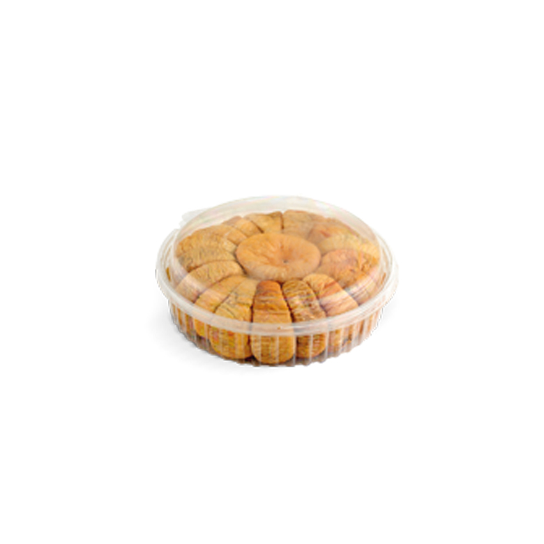 Garland Dried Figs PET- Round with Lid 200/ 250 g - Usta Food Industry Agricultural