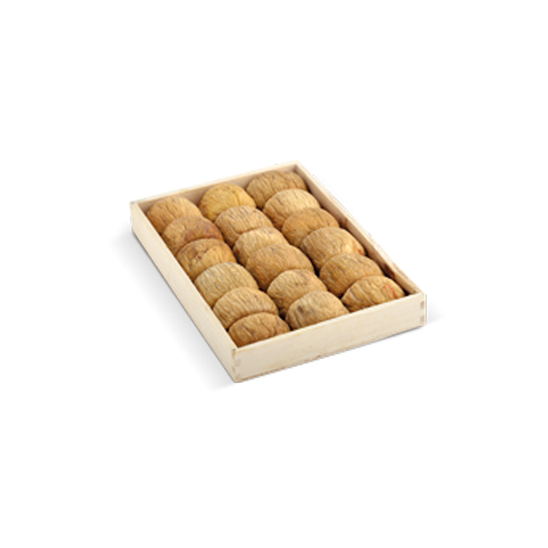 Pulled/ Protoben Dried Figs Wooden Trays 400 g - Usta Food Industry Agricultural